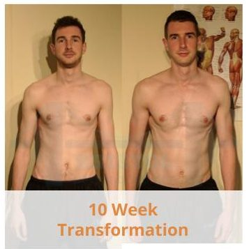 Before and after photos of Callum's 10 week transformation after training with Bristol Personal Trainer Before and after photos of Callum's 10 week transformation after training with Bristol Personal Trainer